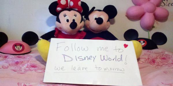 Disney World Here We Come Again!