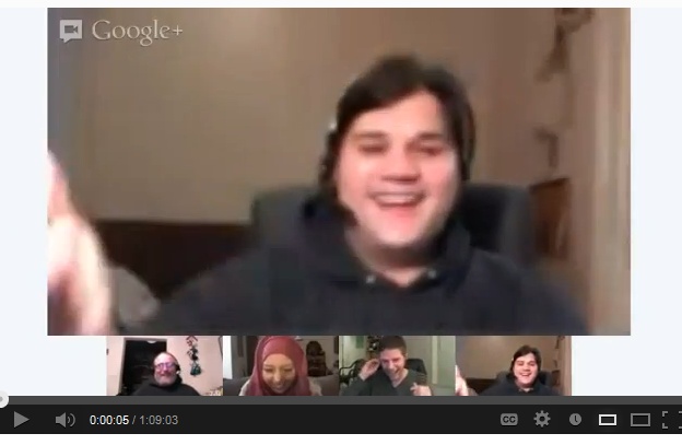 Google Hangout With Some Of My Friends