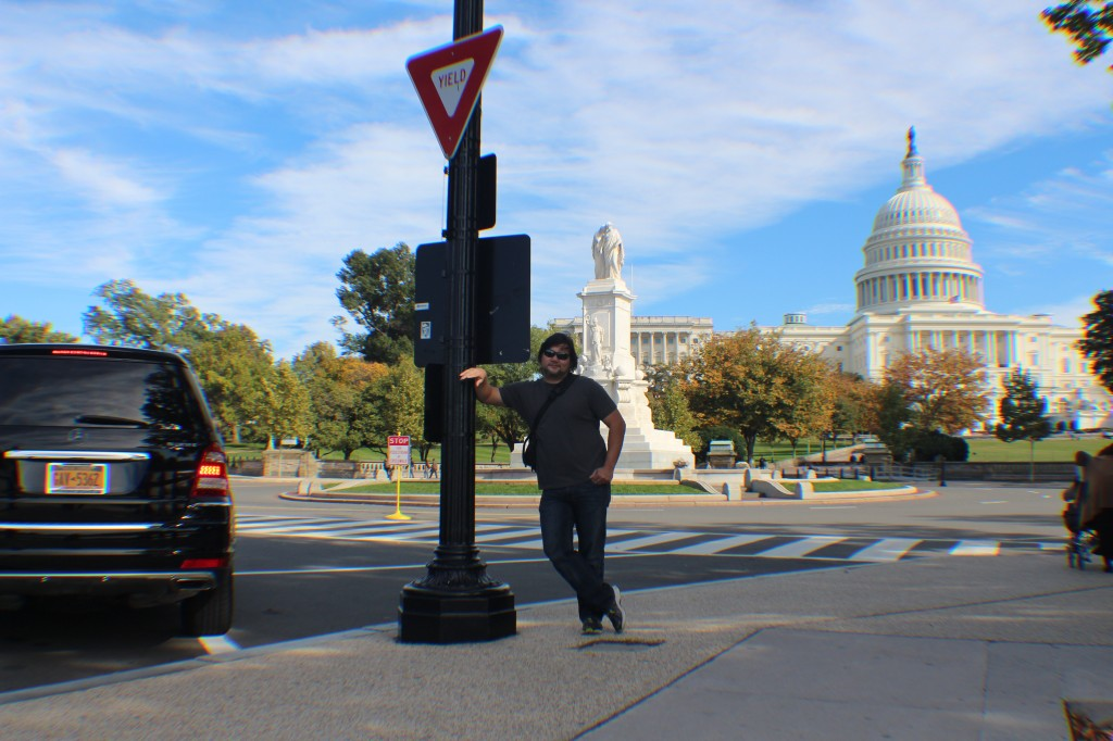 Washington DC, Larry Rivera, Capitol